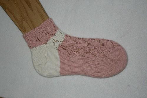 pink tulip(さくらパンダ)socks