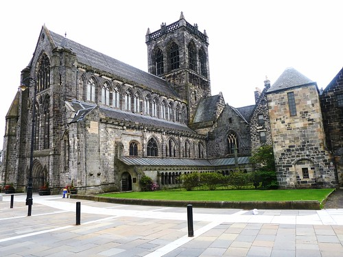 13th C Paisley Abbey,