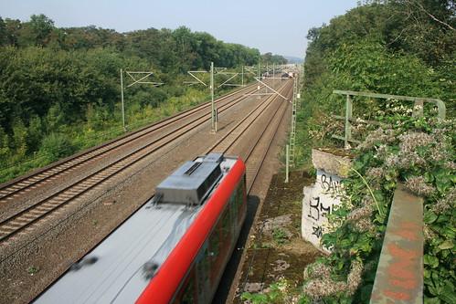 Trasse der Strategischen Bahn bei Horrem