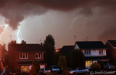 Greasby Lightning (David Chennell) Tags: storm wirral merseyside greasby wirralstorm