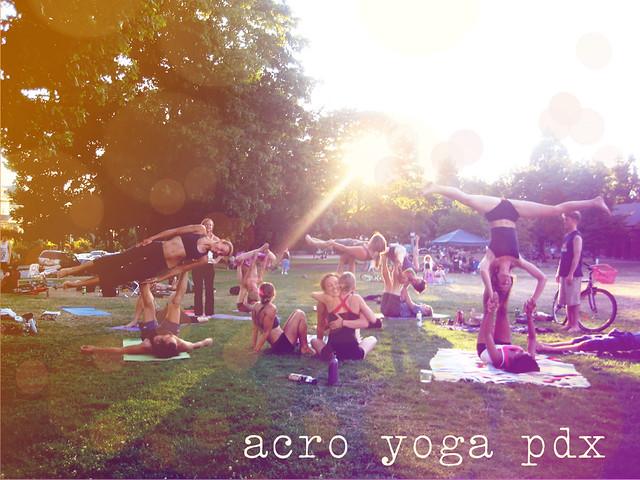 Acro Yoga - PDX