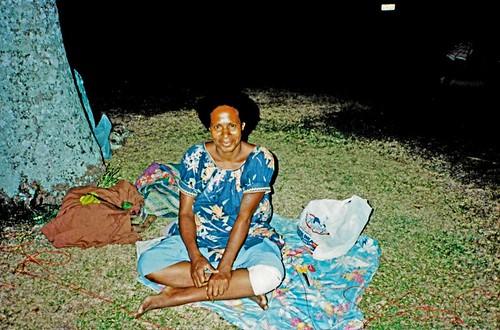 Rabaul souvenir seller