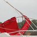 This bimini frame was the only damage I noticed around the marina this morning.