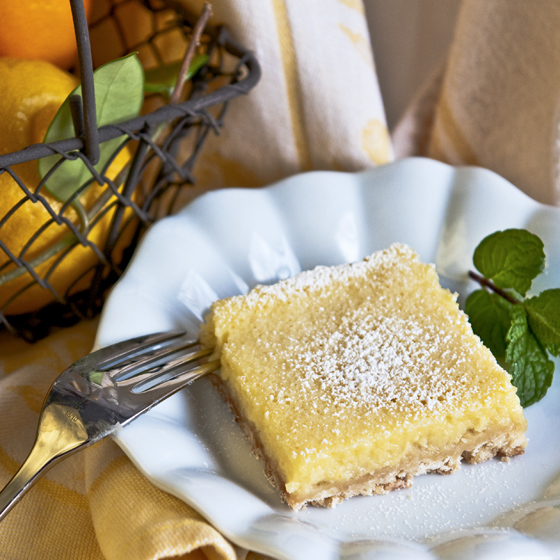 Lemon Yogurt Bars new post red