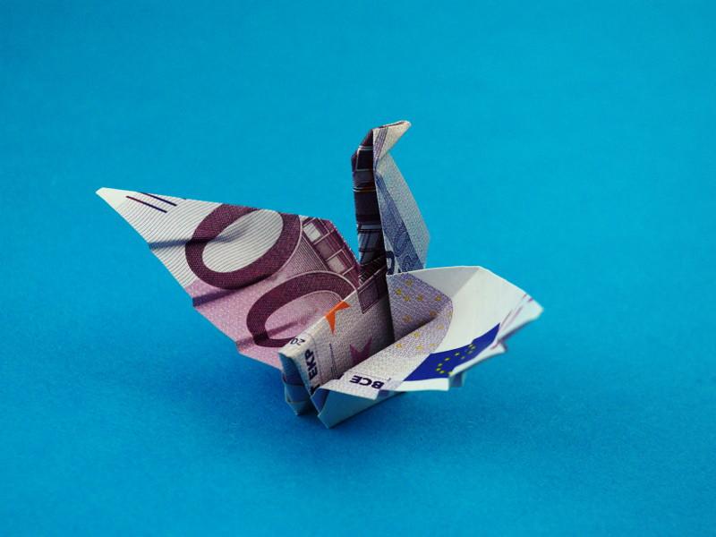 The Worlds Newest Photos Of Geldschein And Origami Flickr