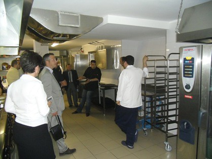 RATIONAL Expert Kitchen - Convincing customers on the easy way - Recently at Crystal Palace in Bukarest, Romania