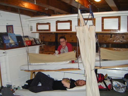 Me and Nick enjoying our bunks