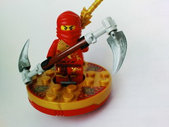 Ninjago Kai DX (Jeroen_K) Tags: mountain shrine lego 2254 ninjago kaidx