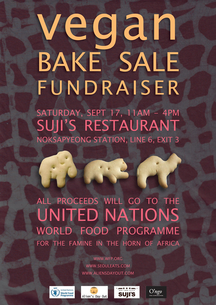 Vegan Bake Sale Fundraiser for East Africa