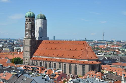 Munich - Frauenkirche from the tower