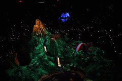 Neverland! (J. Cahn) Tags: california night disneyland peterpan disney peter pan anaheim neverland fantasyland