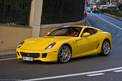 Ferrari 599 GTB (Raul Salinas) Tags: red summer color car yellow canon photography eos amazing interior august super ferrari colores montecarlo monaco salinas coche caro stunning raul 17 expensive 85 luxury rare supercar gtb combo 599 fiorano 2011 exclusivo eor exlcusive 40d autogespot