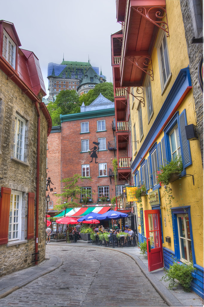 Old Quebec Streets