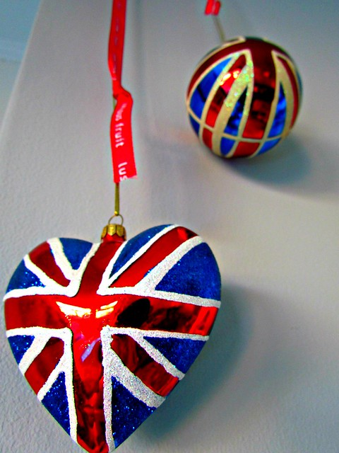 Union Jack baubles