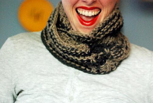 infinity moebius scarf thing
