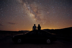 (Fred Thomas) Tags: tripod sagittarius galaxy deathvalley milkyway scorpius earthandspace nikond700 peopleandspace bestnewcomer astro:subject=milkyway competition:astrophoto=2012 astro:gmt=20110802t2024