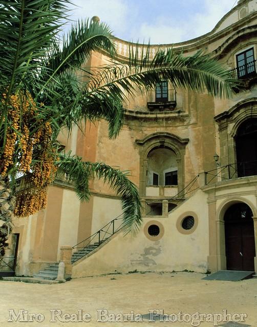 Atrio e Palma (Villa Cattolia)