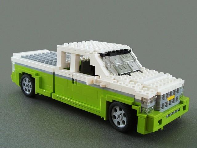 chevrolet truck lego pickup silverado sporttruck