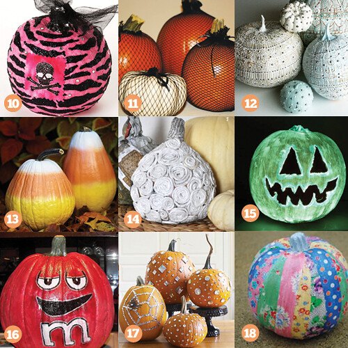 27 Cool Halloween Pumpkin Decorating Ideas