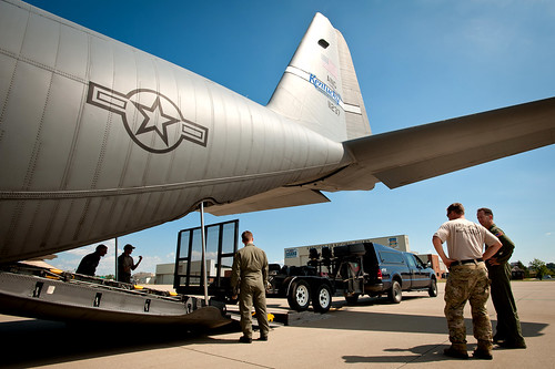Kentucky Air Guardsmen prepare to deploy for rescue operations in aftermath of Hurricane Irene
