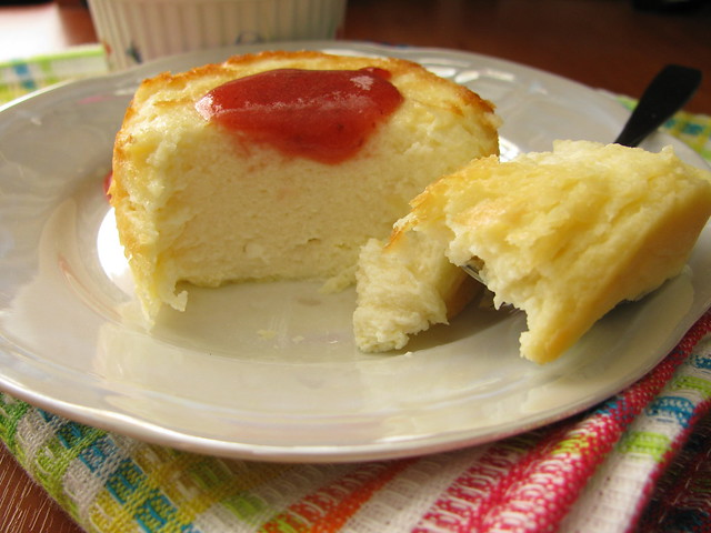 Cottage pudding