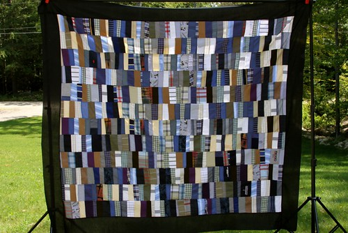 Custom Memory Quilt Made From Shirts