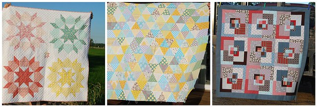 baby #2's quilts or tops