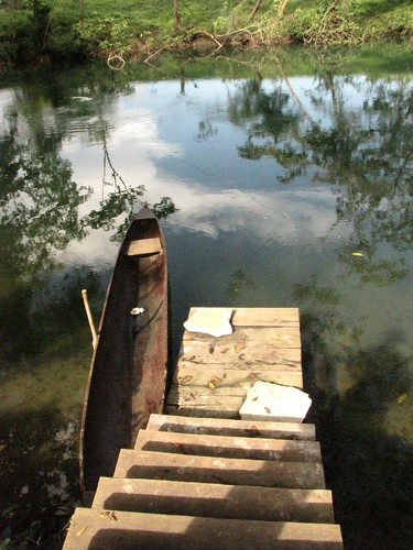canoe on the Temash River