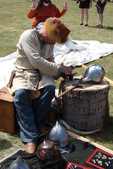 Metal Smith (canadianlookin) Tags: history festival iceland manitoba celebration reenactment gimli icelandicfestival islendingadagurinn