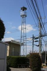 大袋新田の火の見櫓(川越市)