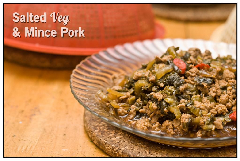Salted Veg & Mince Pork