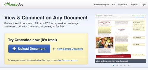 Comment on, edit, and fill PDF files, Word documents, images and more | Crocodoc