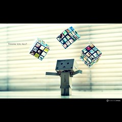 THANK YOU ALL!! (daviddecastrob) Tags: gracias magic cube rubiks magia danbo thankyouall rubiks miscontactos daviddecastro