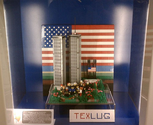 Can I use the Lego 9/11 ad in an essay?