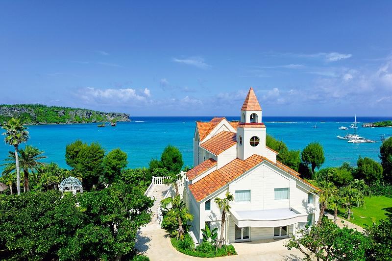 沖繩海外婚禮 克菈薇塔教堂 Coralvita Chapel