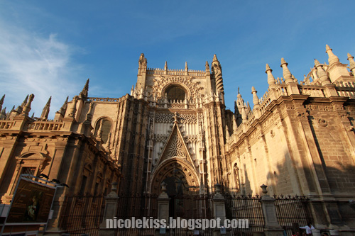 seville cathedral front