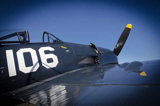 Wampus Cat Grumman F8F Bearcat N7827C