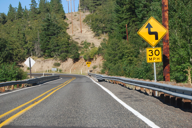 SR 142 east of Klickitat