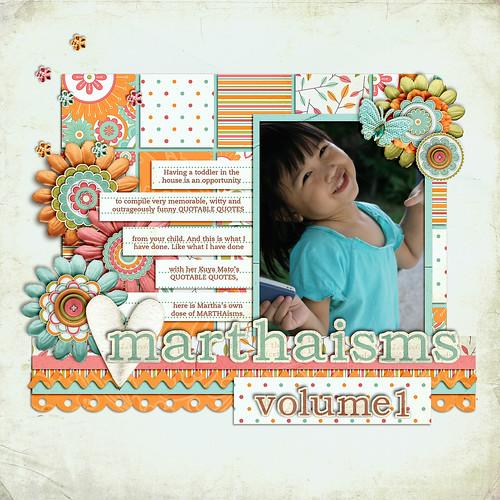 Marthaisms Vol1 Title page