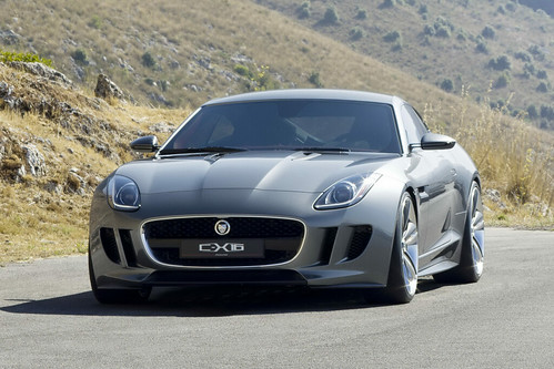 Jaguar C-X16 concept pictures