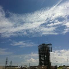#GRAIL on a #DeltaII at #LC17 #NASATweetup #rocket #launch #NASA