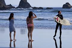 6098.2 Surfer Triangle (eyepiphany) Tags: oregon triangle surf surfing decisivemoment oregonbeaches summerlife oregonsurfing oregontourism surfingfriends manzanitta smuglerscove tappingthesource bestplacestosurf bestplacestosurfinoregon cominginfromaset oregonbeachtowns manzanittaoregon