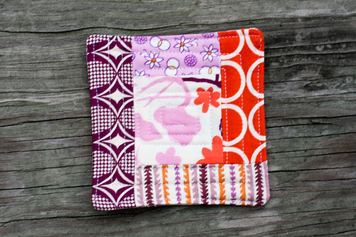 Quilted Coaster Tutorial by jenib320