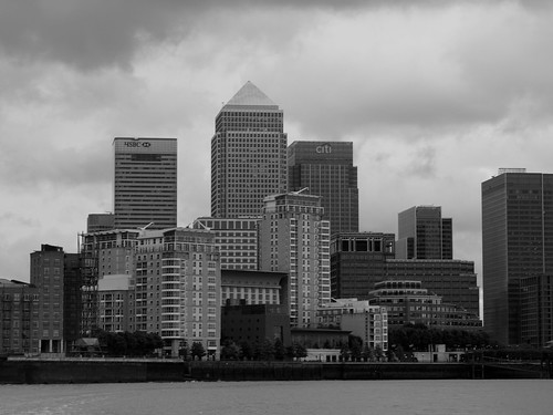 Canary Wharf Complex by The original SimonB