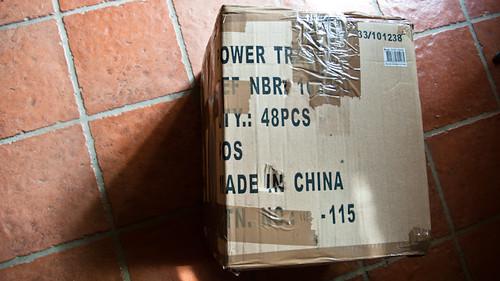 France, postal parcel