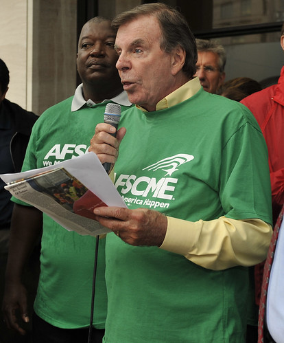 Gerald McEntee - Verizon Rally 9/7/11