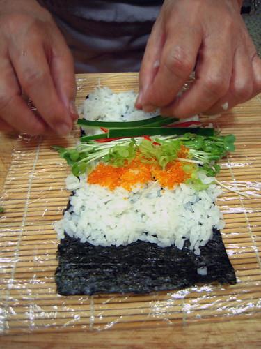 Making Sushi Rolls