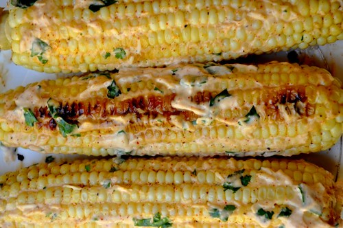 Mexican-Style Grilled Corn (Elote)