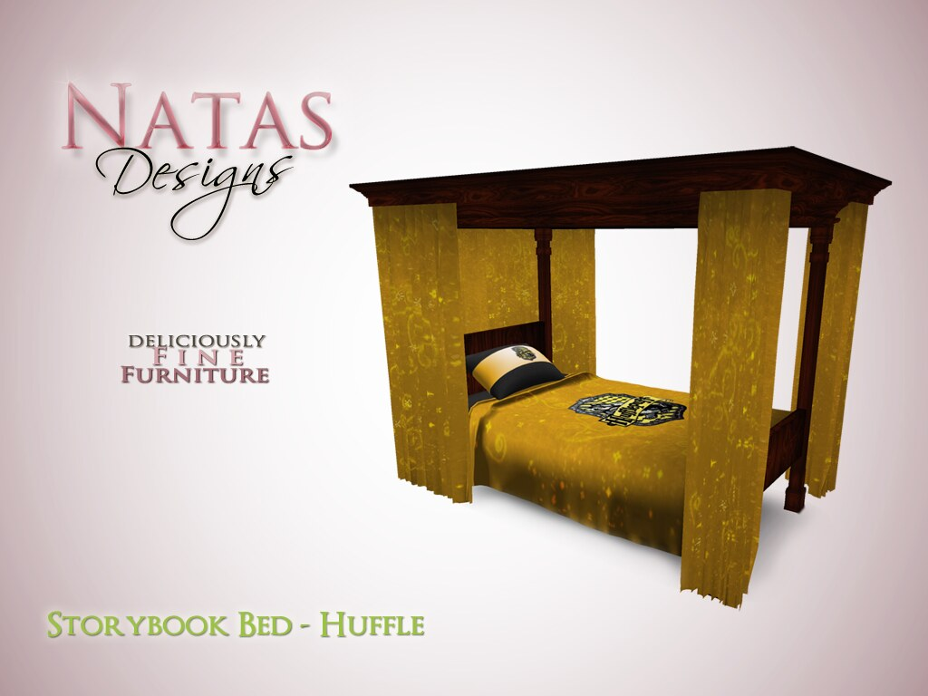 Storybook Bed - Huffle