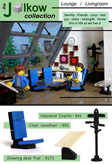 JC2. - pg. 01 (lounge & livingroom) (Jalkow) Tags: ikea design lego chairs furniture interior tables catalogue